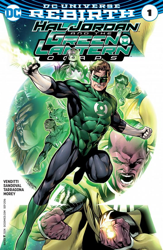 Hal Jordan and the Green Lantern Corps #1-27 (2016-2017)