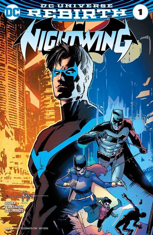 Nightwing #1-10 (2016-2017)