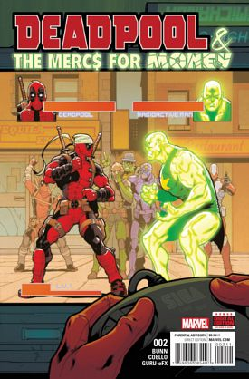 Deadpool & The Mercs For Money #1-10 (2016-2017)