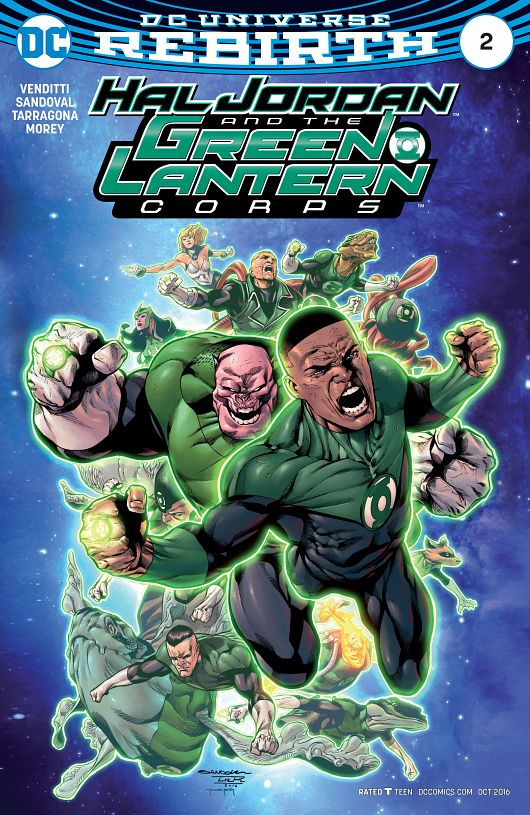 Hal Jordan and the Green Lantern Corps #1-17 (2016-2017)