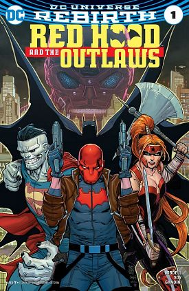 Red Hood and the Outlaws #1-7 (2016-2017)