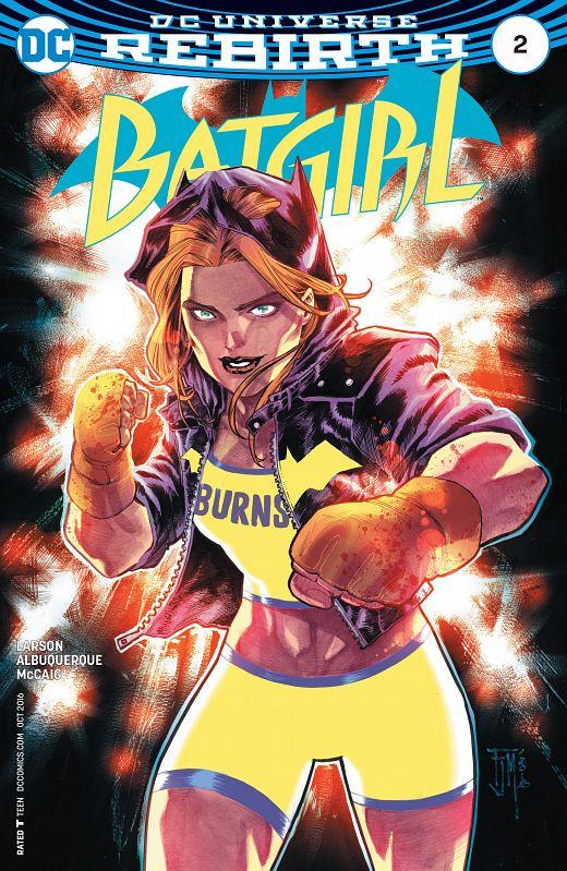 Batgirl #1-14 + Annual (2016-2017)