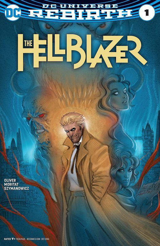 The Hellblazer #1-9 (2016-2017)