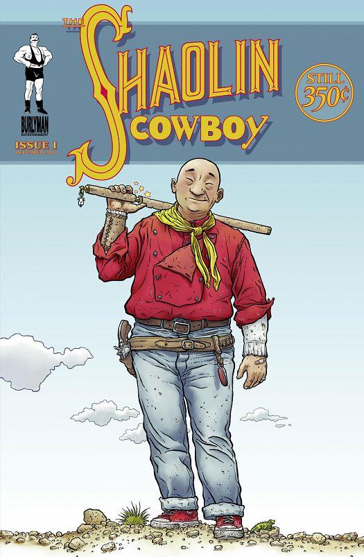 The Shaolin Cowboy #1-4 (v54) (2004-2005)