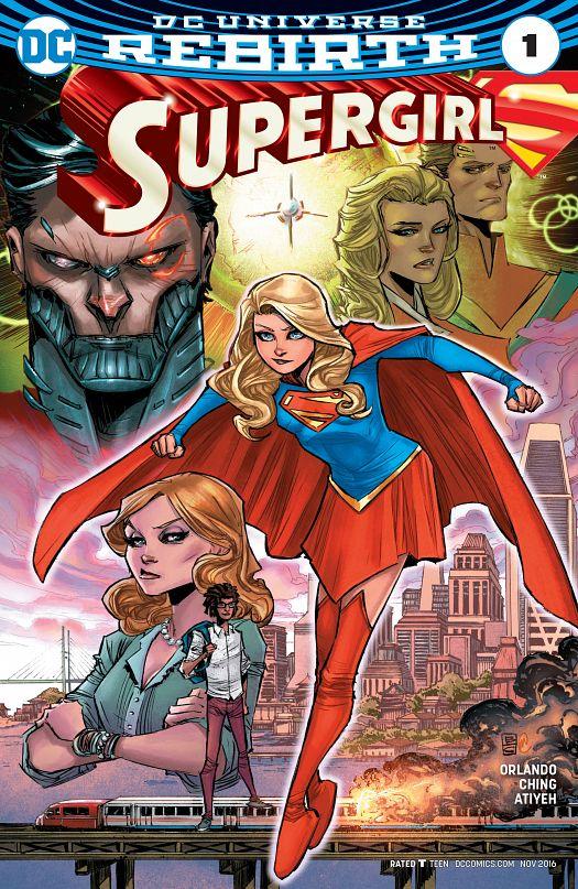 Supergirl #1-5 (2016-2017)