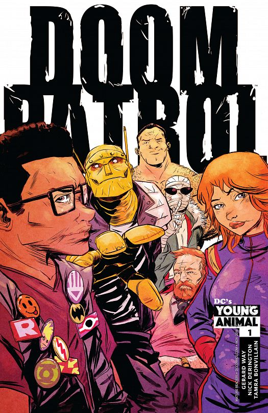 Doom Patrol #1-8 + Special (2016-2017)