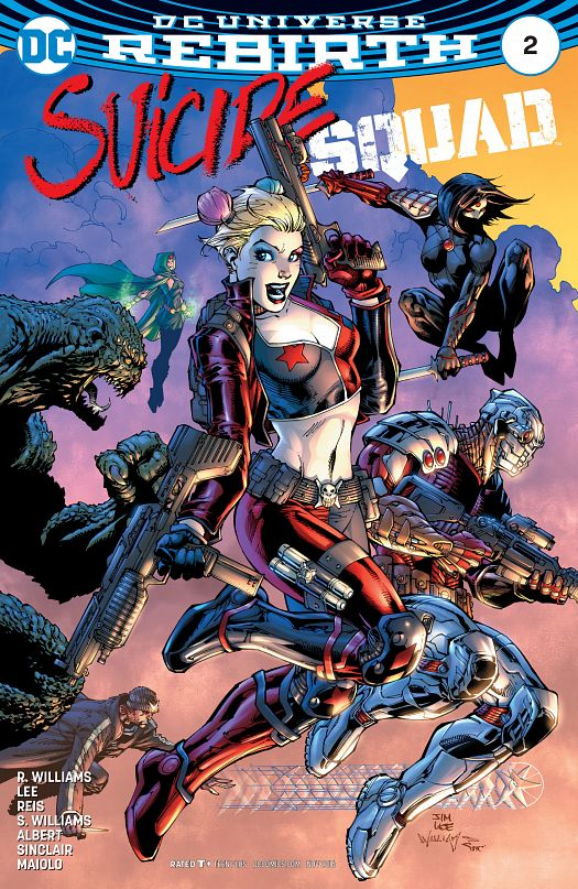 Suicide Squad #1-18 + Director's Cut (2016-2017)