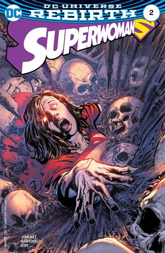 Superwoman #1-9 (2016-2017)