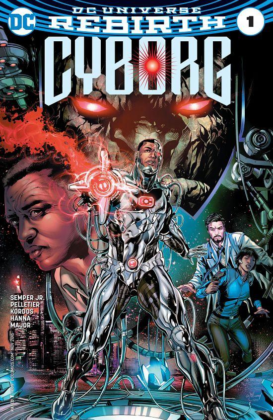 Cyborg #1-6 (2016-2017)