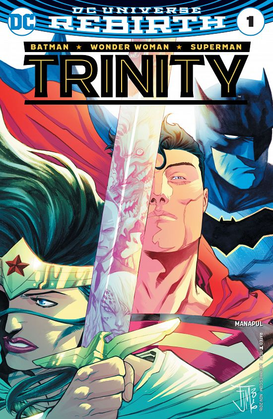 Trinity #1-5 (2016-2017)