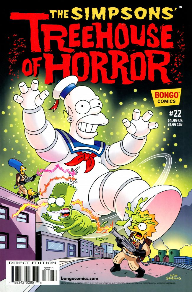 Bart Simpson's Treehouse of Horror #1-23 (1995-2017)