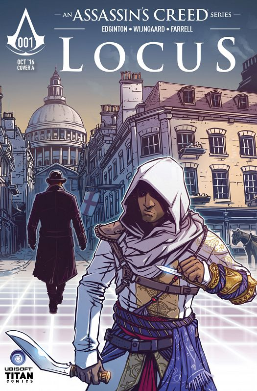 Assassin's Creed - Locus #1-4 (2016) Complete