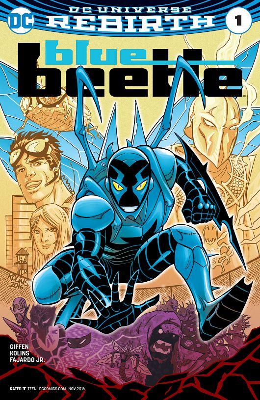 Blue Beetle #1-12 (2016-2017)
