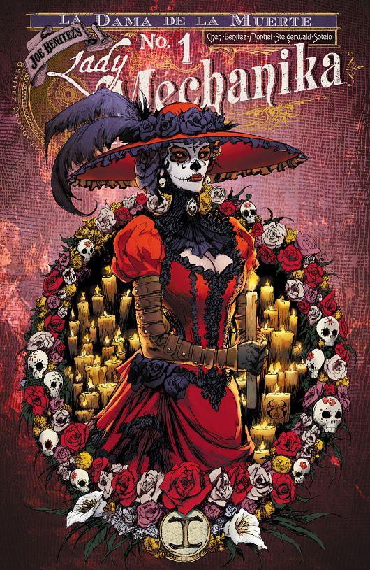 Lady Mechanika - La Dama de la Muerte #1-4 (2016-2018)