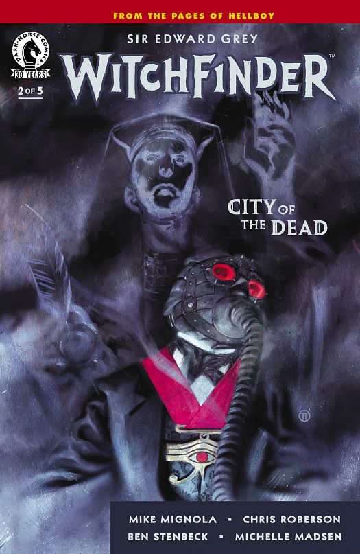 Witchfinder - City of the Dead #1-5 (2016) Complete