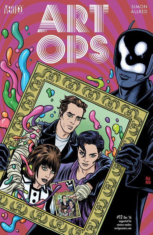 Art Ops #1-12 (2015-2016) Complete