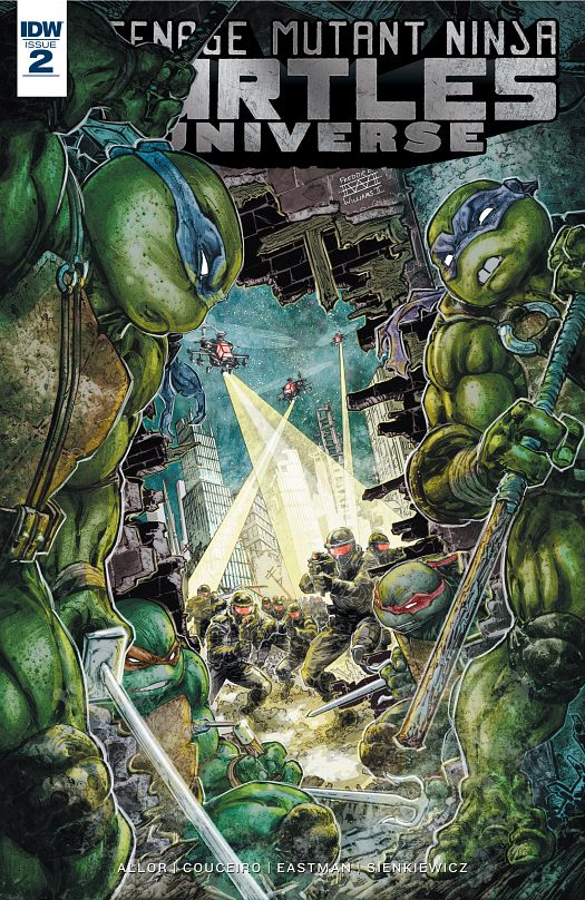 Teenage Mutant Ninja Turtles Universe #1-15 (2016-2017)