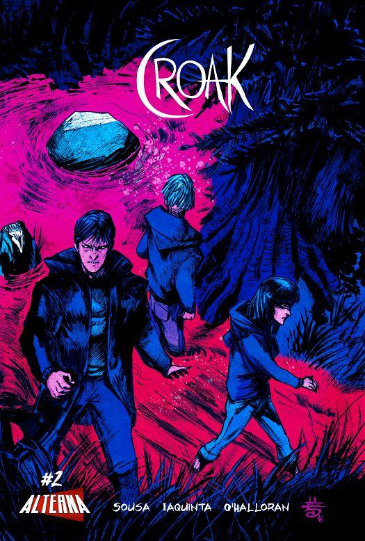 Croak #1-3 (2016)