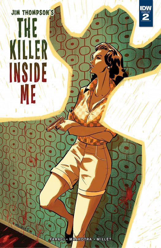 Jim Thompson's The Killer Inside Me #1-5 (2016-2017) Complete