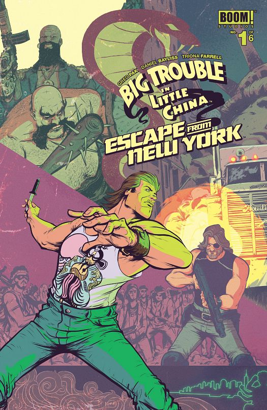 Big Trouble in Little China Escape From New York #1-6 (2016-2017)