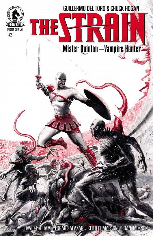Strain - Mister Quinlan - Vampire Hunter #1-5 (2016-2017) Complete