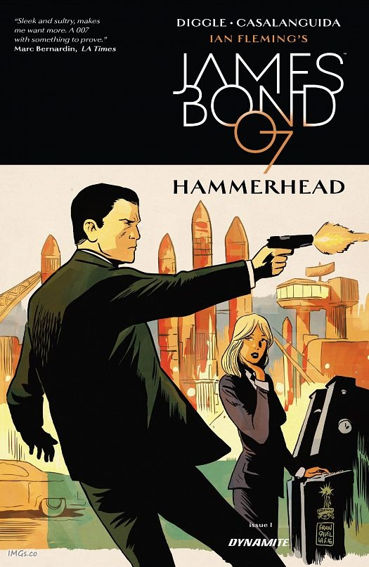 James Bond - Hammerhead #1-6 (2016-2017) Complete