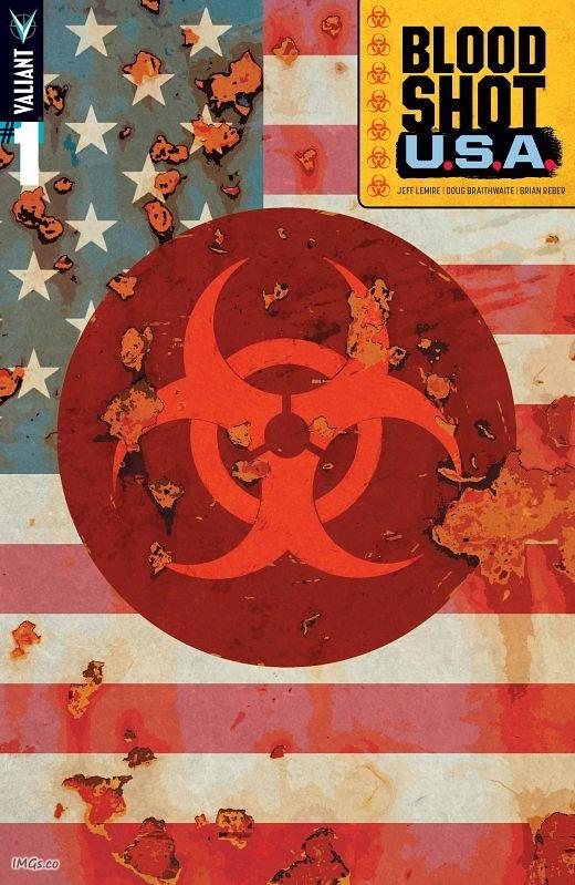 Bloodshot U.S.A. #1-4 (2016-2017) Complete