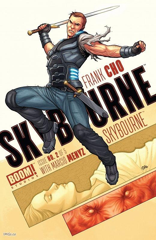 Skybourne #1-5 (2016-2018) Complete