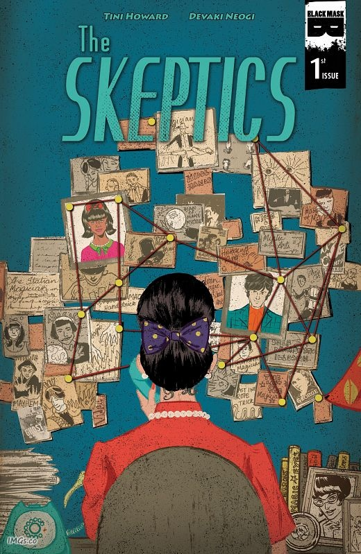 The Skeptics #1-4 (2016-2017)