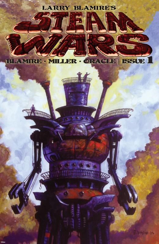 Larry Blamire's Steam Wars #1-3 (2016) Complete