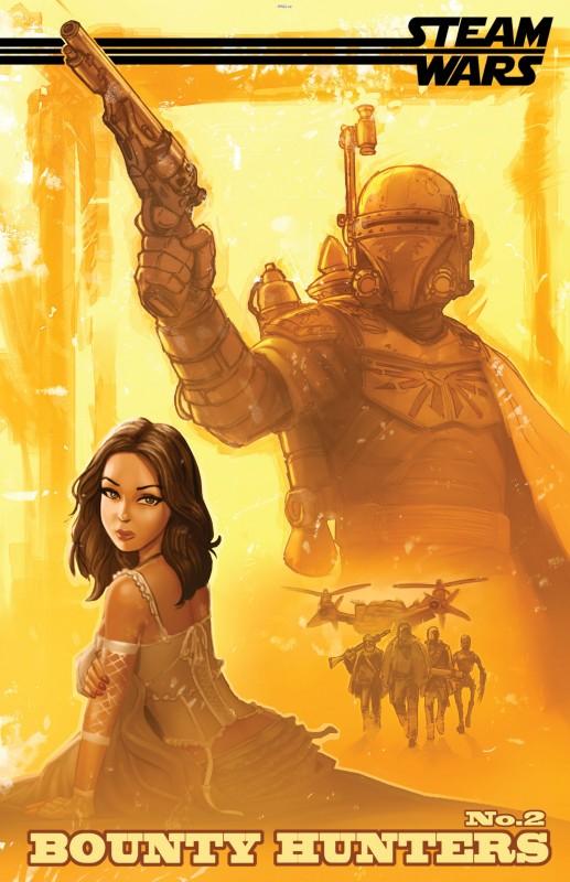 Steam Wars - Bounty Hunters #1-2 (2015) Complete